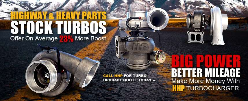 Highway Heavy & Parts Stock Turbos