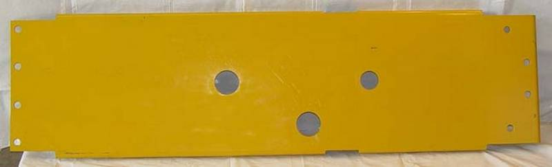 Heavy Equipment Belly Pan : At belly pan rear