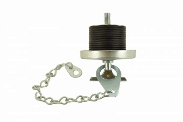 "Caterpillar 3406/B/C, C12 Oil Filler Cap (1-7/8""), (Upside Down Side View)"