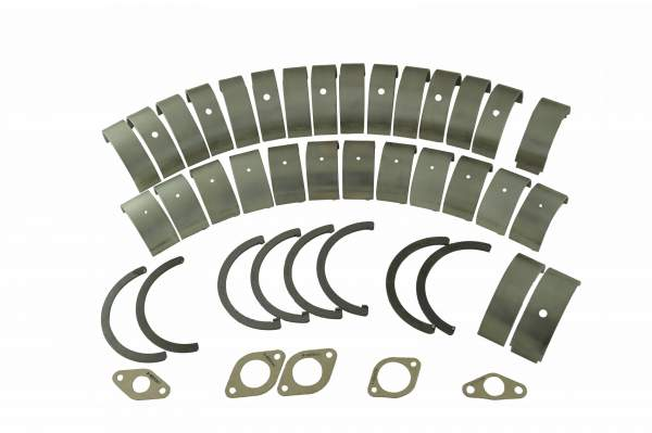 23535280 | Detroit Diesel S60 Standard Lower End Bearing Kit, New (Hooked, Tabbed Thrust Washers)