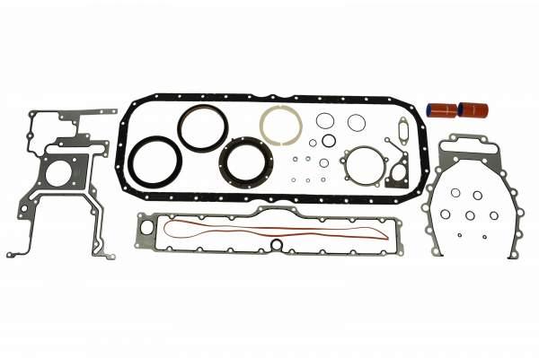 4955591 | Cummins ISX Lower Engine Gasket Set, New (Set 1)