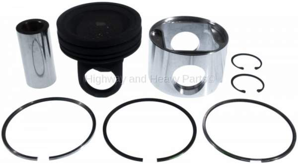 4955237 | Cummins C-Series Piston Kit | Highway and Heavy Parts (Ring Set, Pin, Skirt, Piston)