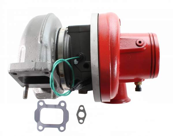 2836358 | Cummins ISX15 Short Turbocharger, Remanufactured | Highway and Heavy Parts (Turbocharger with Gaskets)
