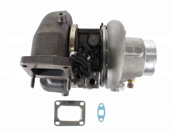 3798519 | Cummins ISX15 Short Turbocharger, Remanufactured | Highway and Heavy Parts (Turbocharger with Gaskets)