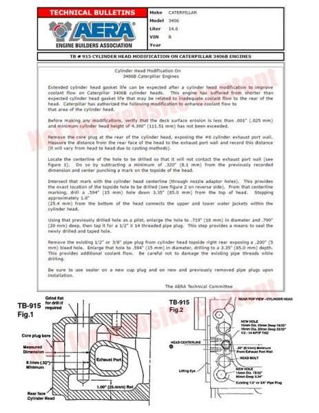 SPW - 1105096 | Caterpillar 3406B Cylinder Head, New - Image 1