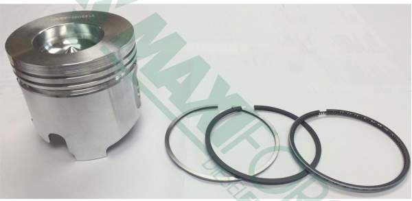 HHP - 12900122901 | Yanmar 3TNE88/4TNE88 0.25mm Piston with Rings - Image 1