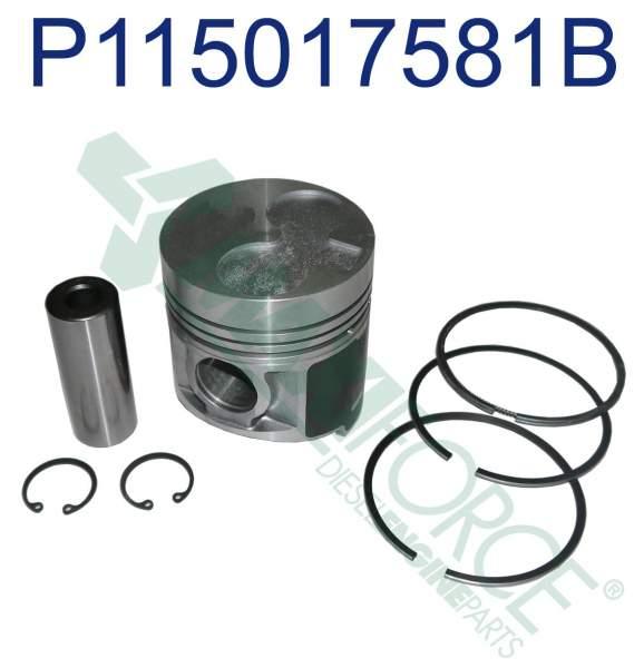 HHP - 115017551B | Perkins 400 Series Piston Ring Kit - Image 1