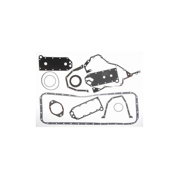 3800558 | Cummins 6C Lower Engine Gasket Set | Highway and Heavy Parts (Gear Cover Gasket, Sealing Washer)