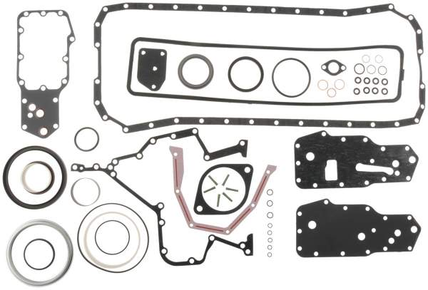 3800487 | Cummins 6B Lower Engine Gasket Set | Highway and Heavy Parts (O-Ring Seals, Copper Gasket, Cooling Nozzles)
