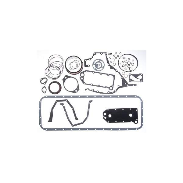 3800343 | Cummins ISC/QSC Lower Engine Gasket Set | Highway and Heavy Parts (O-Ring Seals, Connection Gasket, Sealing Washers)