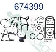 Construction/Industrial - RP-674399C96 | International/Navistar Lower Gasket Set