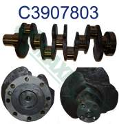 Crankshaft, Seals, & Damper - 3900176 | Cummins B-Series Crankshaft with Gear, New