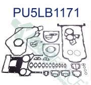 Agricultural - U5LB1160 | Perkins 1004 Bottom Gasket Set