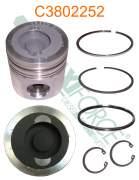 Construction/Industrial - Cummins - C3802252 | Cummins 6B 0.50mm Piston Kit