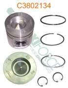 Construction/Industrial - Cummins - A77421 | Cummins 4B/6B 1.00mm Piston Kit