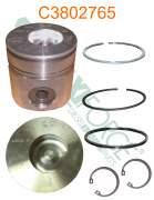 Construction/Industrial - Cummins - HE380276-40 | Cummins 4B/6B 1.00mm Piston Kit
