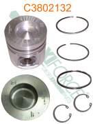 Construction/Industrial - Cummins - A77420 | Cummins 4B/6B 0.50mm Piston Kit
