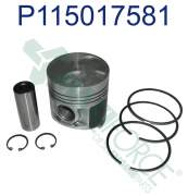 Agricultural - Perkins - P115017581 | Perkins 400 Series Piston and Ring Kit, New