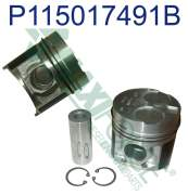 Agricultural - Perkins - P115017491B | Perkins 100/400 Series Piston and Ring Kit, New