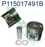 Engine Rebuild Kits - MAX - 115017491B | Perkins 100/400 Series Piston and Ring Kit, New