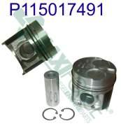 Engine Rebuild Kits - MAX - 115017490 | Perkins/Shibaura 400 Series Piston and Ring Kit
