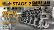 DCW - Caterpillar Stage 2 C15/C15 Acert/3406E Loaded Cylinder Head with Inconel Exhaust Valves - New - Image 6