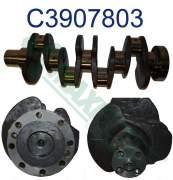 Crankshaft & Damper - HHP - 3900176 | Cummins B-Series Crankshaft with Gear, New