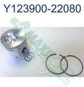 Yanmar - HHP - 123900-22080  | Yanmar Piston With Rings, Pin & RE, Std 4TNE106
